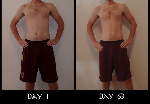 My Insanity Before And After Front Pictures