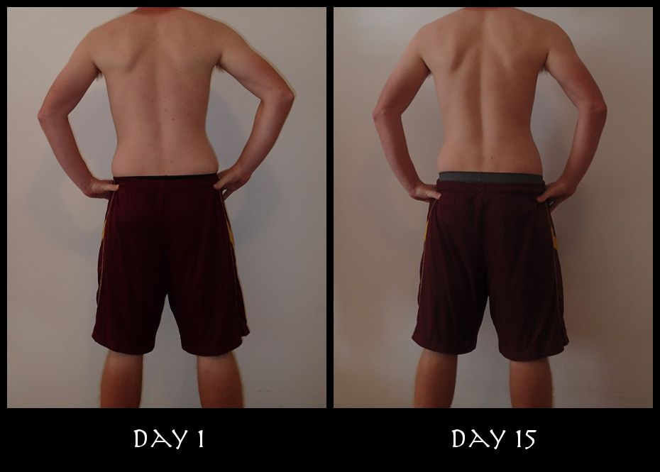 Insanity Week 2 Back Pictures