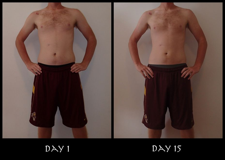 Insanity Week 2 Front Pictures