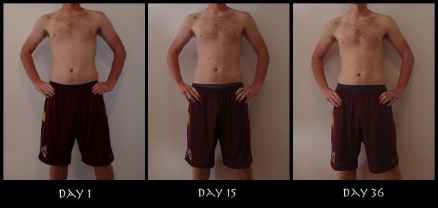 Insanity 30 Day Results Pictures - Front View