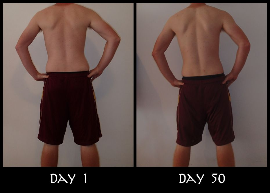 Insanity Week 7 Back Pictures