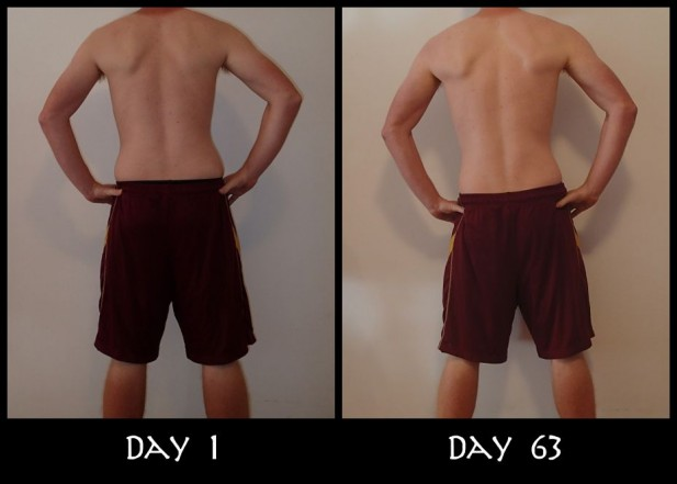 Before and After Back Pictures
